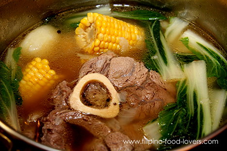 how to cook bulalo beef